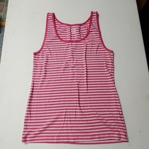 Old navy XXL pink and light pink  striped tank top